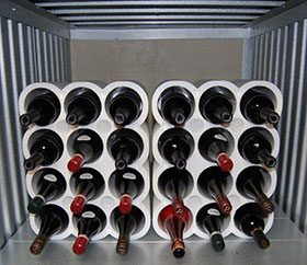 keeping your wine collection in self storage