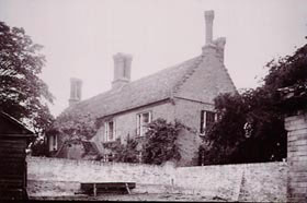 Manor Farm House at Graveley in 1922