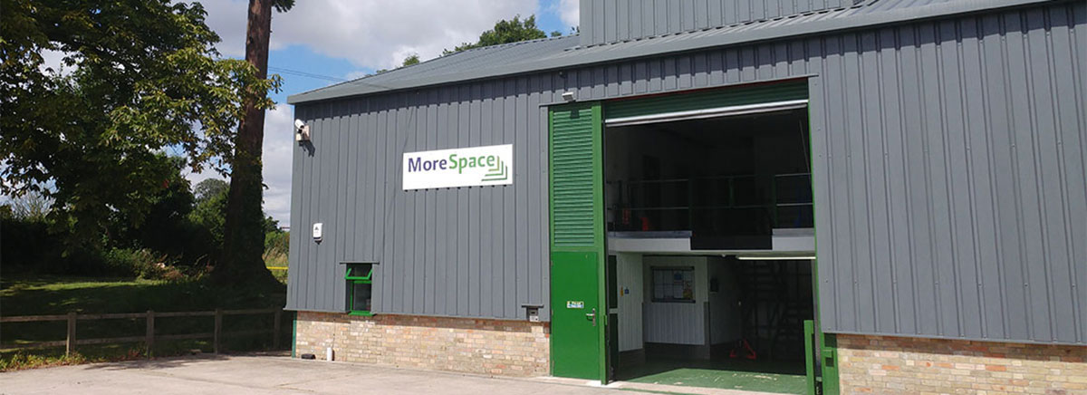 Morespace Storage near St Neots and Huntingdon in Cambridgeshire